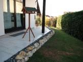 Terrasse mit Trockenmauer